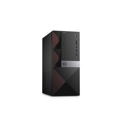 Настольный ПК Dell Vostro 3650 (3650-0243) (3650-0243)Настольные ПК Dell<br>ПК Dell Vostro 3650 MT P G4400 (3.3)/4Gb/500Gb 7.2k/HDG 2Mb/DVDRW/CR/Windows 10 Home/GbitEth/клавиатура/мышь/черный<br>