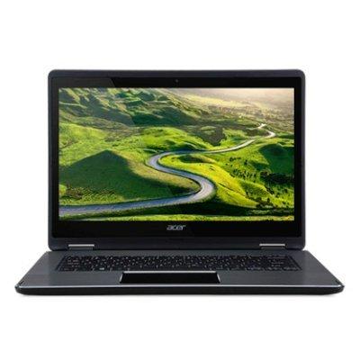 Ультрабук-трансформер Acer Aspire R5-471T-52ES (NX.G7WER.002) (NX.G7WER.002)Ультрабуки-трансформеры Acer<br>Ноутбук Acer Aspire R5-471T-52ES Core i5 6200U/8Gb/SSD256Gb/nVidia GeForce GF 940 2Gb/14.0/IPS/Touch/FHD (1920x1080)/Windows 10/black/WiFi/WiMax/BT/Cam<br>