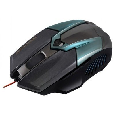 Мышь Crown Gaming CMXG-606 черный/циан (CMXG-606 (Cyan metallic)) мышь crown cmxg 606 usb cyan metallic