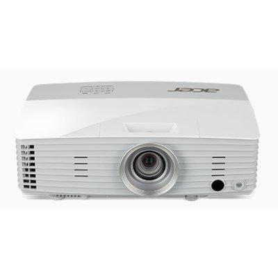 Проектор Acer P5627 (MR.JNG11.001)Проекторы Acer<br>, DLP 3D/WUXGA/4000Lm/20000/1, HDMI/ RJ45/ 10W/DC 5V/ Bag, 2.5kg<br>