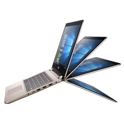 Ультрабук-трансформер ASUS VivoBook Flip TP501UQ-DN035T (90NB0CV1-M00790) (90NB0CV1-M00790)Ультрабуки-трансформеры ASUS<br>Core i7-6500U/8Gb/1Tb/15.6 FHD 1920x1080 GL/NV GT940M 2GB/Camera/Wi-Fi/Windows 10<br>