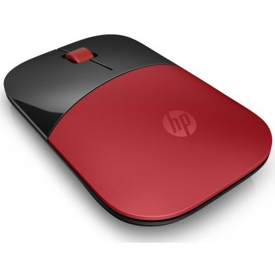Мышь HP Z3700 Wireless Mouse Red (V0L82AA) (V0L82AA) мышь hp wireless mouse x7500 беспроводная h6p45aa h6p45aa