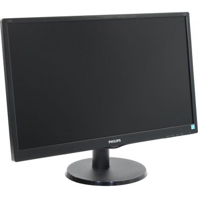 Монитор Philips 23,8 240V5QDSB/01 (240V5QDSB/01)Мониторы Philips<br>23,8 Philips 240V5QDSB 1920x1080 IPS-ADS LED 16:9 5(14)ms VGA DVI-D HDMI 10M:1 178/178 250cd Black.<br>