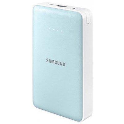где купить  Внешний аккумулятор для портативных устройств Samsung EB-PN915B белый/голубой (EB-PN915BLRGRU)  дешево