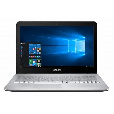 Ноутбук ASUS N552VW (90NB0AN1-M02340) (90NB0AN1-M02340)Ноутбуки ASUS<br>i7-6700HQ 8Gb 1Tb nV GTX960M 2Gb 15,6 QHD DVD(BR-R) BT Cam 3200мАч Win10 Серый 90NB0AN1-M02340<br>