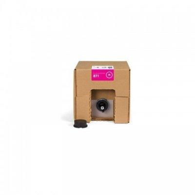 Картридж для струйных аппаратов HP G0Y80C 871C 3L Magenta (G0Y80C) картридж для принтера nv print для hp cf403x magenta