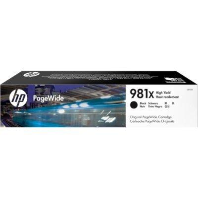 Картридж для струйных аппаратов HP L0R12A 981X Black (L0R12A)Картриджи для струйных аппаратов HP<br>HP 981X Black Original PageWide Crtg<br>