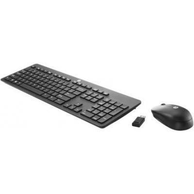 Комплект Клавиатура+ мышь HP Slim Wireless BLANK (T6L04AA) (T6L04AA)Клавиатуры HP<br>беспроводная клавиатура + мышь (радиоканал), USB, цвет: чёрный<br>