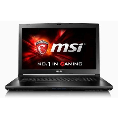 Ноутбук MSI GL72 6QD-211XRU (9S7-179675-211)Ноутбуки MSI<br>Intel Core i5 6300HQ (2.3GHz) + HM170, 4096MB, 500GB, 17.3 (1920*1080), DVD-RW, NVidia GeForce GTX950M 2048MB, DOS, черный, 2.8 кг (9S7-179675-211)<br>