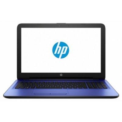Ноутбук HP 15 15-ba504ur (X5D88EA) (X5D88EA)Ноутбуки HP<br>15.6(1366x768)/AMD E-Series E2-7110(1.8Ghz)/4096Mb/500Gb/noDVD/Int:AMD Radeon R2/Cam/BT/WiFi/41WHr/war 1y/2.04kg/noble blue/W10<br>