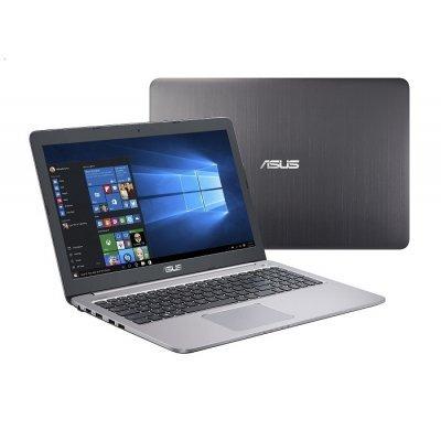 Ноутбук ASUS K501UX-FI074T (90NB0A62-M00800) (90NB0A62-M00800)Ноутбуки ASUS<br>(UHD DISPLAY) Core i7-6500/8G BDDR3/1TB+128Gb SSD/15,6 UHD 3840x2160 /NV GT940 2GB/Camera/Wi-Fi/Windows 10<br>