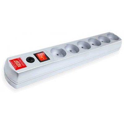 Сетевой фильтр Most R 10м белый (R 6-10-Б)Сетевые фильтры Most<br>Сетевой фильтр Most R 10м (6 розеток) белый (коробка)<br>