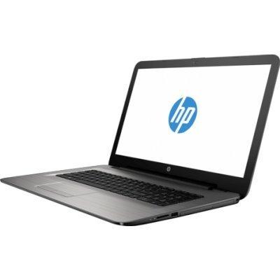 Ноутбук HP 17-y019ur (X7G76EA) (X7G76EA)Ноутбуки HP<br>Ноутбук HP17 17-y019ur 17.3 1600x900, AMD E2-7110 1.8GHz, 4Gb, SSD 128Gb (M.2),, DVD-RW, WiFi, BT, Cam, Win10, эксклюзив, серебристый<br>