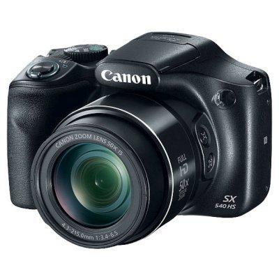 Цифровая фотокамера Canon PowerShot SX540 HS черный (1067C002) цифровая фотокамера canon powershot sx720 hs 1071c002