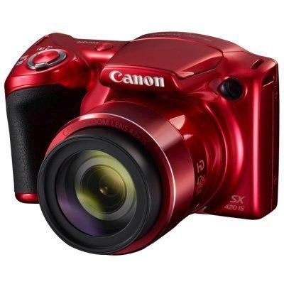 Цифровая фотокамера Canon PowerShot SX420 IS красный (1069C002) кабель canon powershot sx30 is sd400 ixus 50