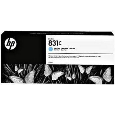Картридж для струйных аппаратов HP 831C 775ml Lt Cyn Latex Ink Cartridge (CZ698A) new products compatible for hp831 replaced cartridges 775ml with latex ink 831