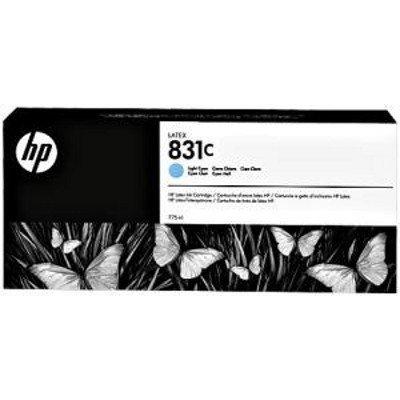 Картридж для струйных аппаратов HP 831C 775ml Lt Cyn Latex Ink Cartridge (CZ698A)Картриджи для струйных аппаратов HP<br>831C 775ml Lt Cyn Latex Ink Cartridge<br>