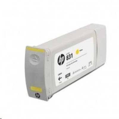 Картридж для струйных аппаратов HP 831C 775ml Yellow Latex Ink Cartridge (CZ697A) цена и фото