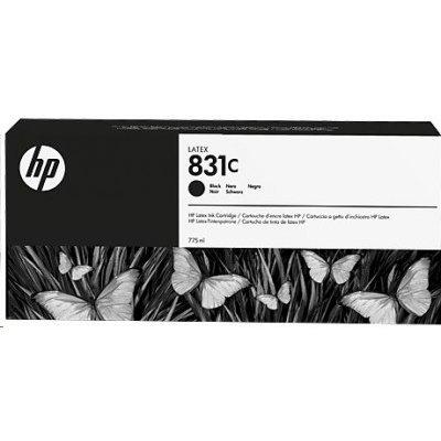 Картридж для струйных аппаратов HP 831C 775ml Black Latex Ink Cartridge (CZ694A) картридж hp pigment ink cartridge 727 matte black b3p22a