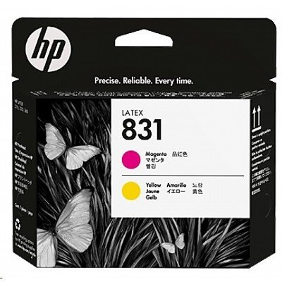Картридж для струйных аппаратов HP 831 Yellow / Magenta Latex Printhead (CZ678A)