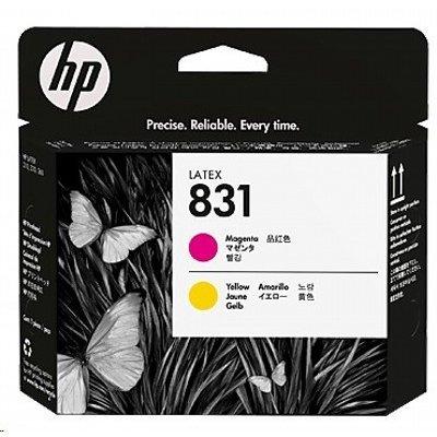 Картридж для струйных аппаратов HP 831 Yellow / Magenta Latex Printhead (CZ678A) картридж для принтера nv print для hp cf403x magenta