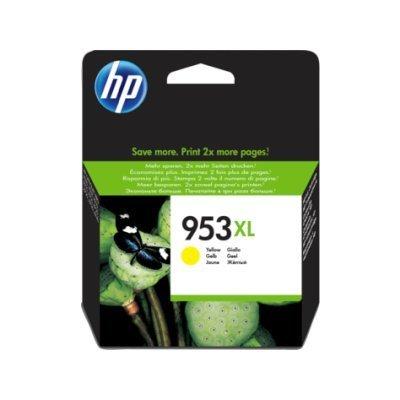 Картридж для струйных аппаратов HP 953XL High Yield Yellow Ink Cartridge (F6U18AE) fast shipping 2pk 74 75 xl ink cartridge for hp 74 xl 75 xl ink cartridge with 100% defective replacement