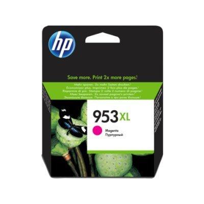 Картридж для струйных аппаратов HP 953XL High Yield Magenta Ink Cartridge (F6U17AE) картридж для принтера nv print для hp cf403x magenta