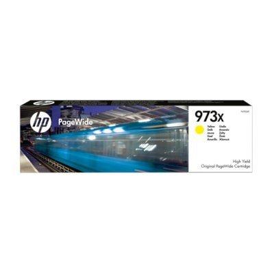 Картридж для струйных аппаратов HP 973X, HP PageWide, Yellow (F6T83AE)Картриджи для струйных аппаратов HP<br>Картридж<br>желтый<br>7000 страниц<br>452dw/ 477dw, P55250dw/MFP P5775<br>