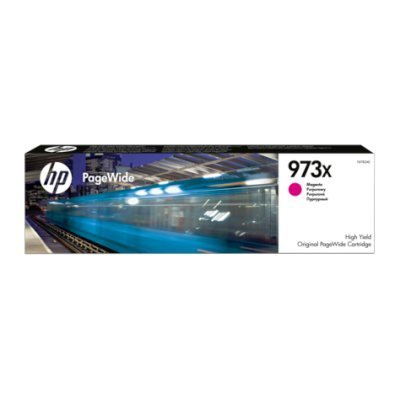 Картридж для струйных аппаратов HP 973X PageWide Magenta (F6T82AE) мфу hp pagewide pro 477dw