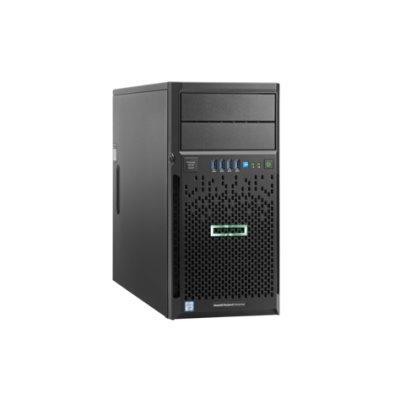 Сервер HP ProLiant ML30 Gen9 (831068-425) (831068-425)Серверы HP<br>ML30 Gen9, 1x E3-1220v5 4C 3.0GHz, 1x8Gb-U, B140i/ZM (RAID 1+0/5/5+0) 2x1TB SATA (4 LFF 3.5&amp;amp;#039;&amp;amp;#039; HP) 1x350W NHP NonRPS,2x1Gb/s,DVDRW,iLO4.2,Tower-4U,3-1-1<br>