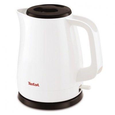 Электрический чайник Tefal KO150130 белый/черный (7211002180) чайник электрический tefal ko260130 2400вт белый и черный