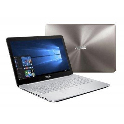 Ноутбук ASUS N752VX (90NB0AY1-M03160) (90NB0AY1-M03160)Ноутбуки ASUS<br>Asus N752VX i5-6300HQ 8Gb 1Tb + SSD 128Gb  nV GTX950M 2Gb 17,3 FHD DVD(DL) BT Cam 3200мАч Win10 Серый 90NB0AY1-M03160<br>