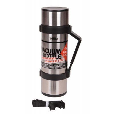 Термос Thermos NCB-12B 1.2л. серебристый (835666) thermos ncb 12b rocket bottle black