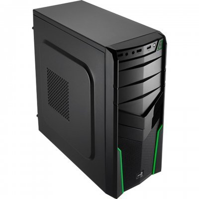 Корпус системного блока Aerocool V2X Green Edition 600W (4713105954555)
