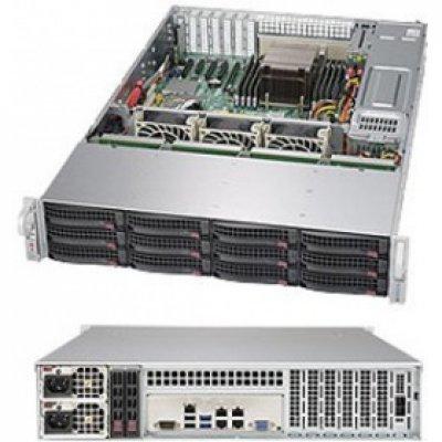 Серверная платформа SuperMicro SSG-5028R-E1CR12L (SSG-5028R-E1CR12L)Серверные платформы SuperMicro<br>2U, LGA2011-3, Intel C612, 8 x DDR4, 12 x 3.5 SAS, 4xGigabit Ethernet (1000 Мбит/с), 920 Вт<br>