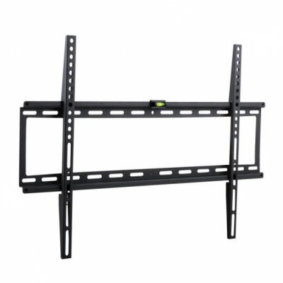 Кронштейн для ТВ и панелей Kromax IDEAL-1 черный (26001)Кронштейн для ТВ и панелей Kromax<br>Кронштейн для телевизора Kromax IDEAL-1 черный 32-90 макс.55кг настенный фиксированный<br>