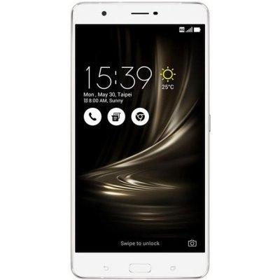 Смартфон ASUS ZenFone 3 Ultra ZU680KL 64Gb белый (90AK0012-M00370)Смартфоны ASUS<br>смартфон, Android 6.0<br>поддержка двух SIM-карт<br>экран 6.8, разрешение 1920x1080<br>камера 23 МП, лазерный автофокус<br>память 64 Гб, слот для карты памяти<br>3G, 4G LTE, LTE-A, Wi-Fi, Bluetooth, NFC, GPS, ГЛОНАСС<br>аккумулятор 4600 мА/ч<br>вес 233 г, ШxВxТ 93.90x186.40x6.80 мм<br>