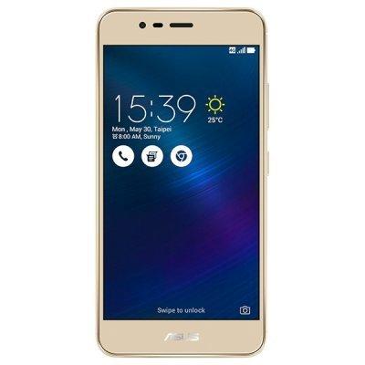 Смартфон ASUS ZenFone 3 Max ZC520TL-4G021RU 16Gb золотой (90AX0085-M00300)Смартфоны ASUS<br>ZC520TL-4G021RU / 5,2 1280 x 720 (HD) IPS / MT6737T 1.45 GHz / 2GB / 16GB / 13MP + 5MP<br>