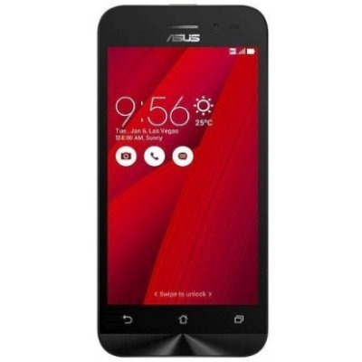 Смартфон ASUS ZenFone GO ZB450KL 8Gb красный (90AX0093-M00380)Смартфоны ASUS<br>ZB450KL-1C038RU / 4,5 854 x 480  (FWVGA) TN / MSM8916 1.0 GHz / 1GB / 8GB / 8MP + 2MP<br>