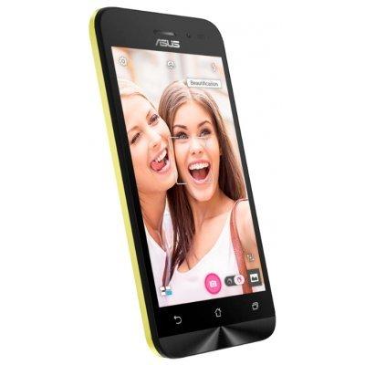 Смартфон ASUS ZenFone GO ZB450KL 8Gb золотистый (90AX0095-M00210)Смартфоны ASUS<br>ZB450KL-6G021RU / 4,5 854 x 480  (FWVGA) TN / MSM8916 1.0 GHz / 1GB / 8GB / 8MP + 2MP<br>