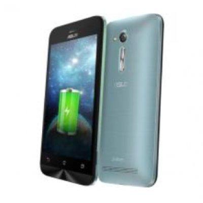 Смартфон ASUS ZenFone GO ZB450KL 8Gb голубой (90AX0096-M00220)Смартфоны ASUS<br>ZB450KL-6J022RU / 4,5 854 x 480  (FWVGA) TN / MSM8916 1.0 GHz / 1GB / 8GB / 8MP + 2MP<br>