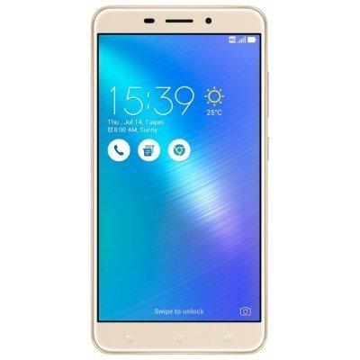 Смартфон ASUS ZenFone 3 Laser ZC551KL 32Gb золотистый (90AZ01B2-M00050)Смартфоны ASUS<br>ZC551KL-4G005RU / 5.5 1920 x 1080 (FHD) IPS / MSM8937 1.4 GHz / 2GB / 32GB / 13MP + 8MP<br>