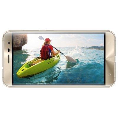 Смартфон ASUS ZenFone 3 ZE520KL 32Gb золотой (90AZ0173-M00600)Смартфоны ASUS<br>смартфон, Android 6.0<br>поддержка двух SIM-карт<br>экран 5.2, разрешение 1920x1080<br>камера 16 МП, автофокус<br>память 32 Гб, слот для карты памяти<br>3G, 4G LTE, LTE-A, Wi-Fi, Bluetooth, GPS, ГЛОНАСС<br>аккумулятор 2650 мА/ч<br>вес 144 г, ШxВxТ 73.98x146.87x7.69 мм<br>ZE520KL-1G044RU<br>