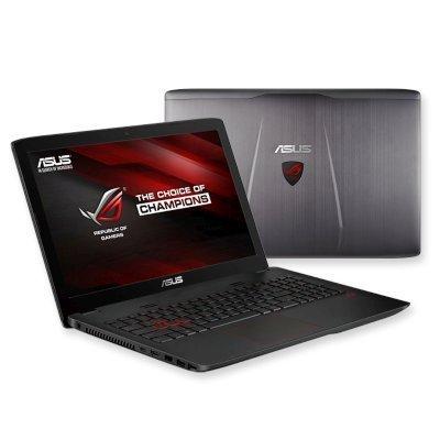 Ноутбук ASUS GL552Vw (90NB09I3-M08500) (90NB09I3-M08500)Ноутбуки ASUS<br>Ноутбук Asus GL552Vw i7-6700HQ (2.6)/16G/1T+256G SSD/15,6FHD AG IPS/NV GTX960M 4G DDR5/DVD-SM/BT/Wi<br>