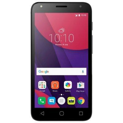 Смартфон Alcatel PIXI4 5010D черный (5010D-2AALRU1)Смартфоны Alcatel<br>смартфон, Android 6.0 поддержка двух SIM-карт экран 5, разрешение 854x480 камера 8 МП, автофокус память 8 Гб, слот для карты памяти 3G, Wi-Fi, Bluetooth, GPS аккумулятор 2000 мА?ч вес 148 г, ШxВxТ 72.50x140.70x9.50 мм<br>