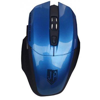 Мышь Jet.A OM-U38G синий (OM-U38G)Мыши Jet.A<br>Беспроводная мышь Jet.A OM-U38G Blue Comfort (1200/1600/2000 dpi, 5 кнопок, USB, бат. ААА 2шт)<br>