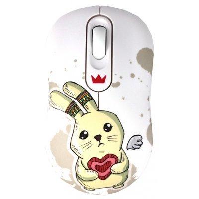 Мышь Crown CMM-928W rabbit (CM000001189, CMM-928W (rabbit))Мыши Crown<br>Беспроводная мышь CROWN CMM-928W rabbit<br>