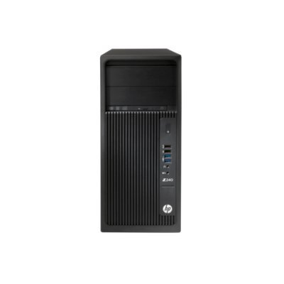 Рабочая станция HP Z240 (Y3Y28EA) (Y3Y28EA)Рабочие станции HP<br>TW, Core i7-6700, 8GB(2x4GB)DDR4-2133 nECC, 256GB PCIe, SuperMultiODD, Intel HD GFX 530, Win10Pro 64<br>