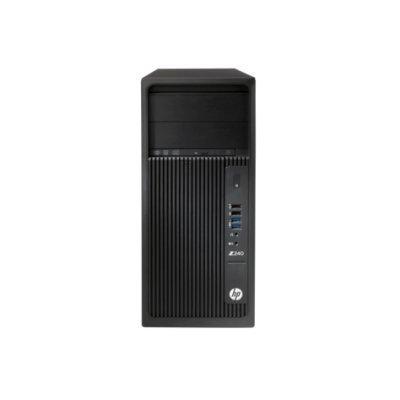 Рабочая станция HP Z240 TW (Y3Y21EA) (Y3Y21EA)Рабочие станции HP<br>Core i5-6600, 8GB(2x4GB)DDR4-2133 nECC, 1TB SATA 7200 HDD, SuperMultiODD, Intel HD GFX 530,Win10Pro 64<br>