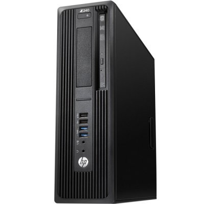 Рабочая станция HP Z240 SFF (Y3Y23EA) (Y3Y23EA)Рабочие станции HP<br>, Core i7-6700, 8GB(2x4GB)DDR4-2133 nECC, 1TB SATA 7200 HDD, SuperMultiODD, Intel HD GFX 530, mouse, keyboard, Win10Pro 64<br>